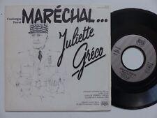JULIETTE GRECO Maréchal  ( PETAIN ) COULONGES FERRAT 128258 PROMO  RRR