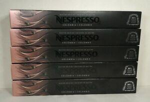 50 Nespresso Capsules Original Line Colombia Master Origin Coffee EXP 09/21