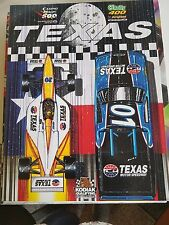 Nascar Texas Motor Speedway June 2001  Program Truck and Indy Cars