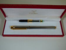 Cartier Santos Fountain Pen with Converter- Fully Boxed with Paperwork