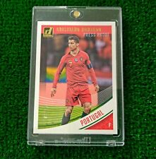 2018-19 Donruss Soccer RONALDO PRESS PROOF CANVAS 7/25 Portugal JERSEY NUMBER
