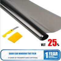 Window Tint Film 25% VLT Black Roll 76cm X 6m Car Auto House Home 760mm X 6m AU