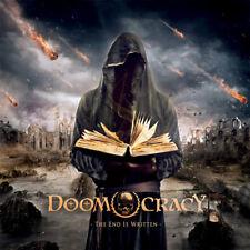 DOOMOCRACY-The End Is Written CD Candlemass,Memento Mori,Solitude Aeturnus,Rare