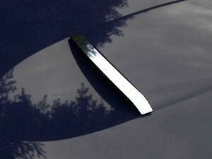 FITS FORD THUNDERBIRD 02-05 POLISHED STAINLESS CHROME HOOD SCOOP ACCENT TRIM 1PC