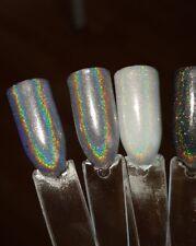 CA Hologramm Silber Multi Effekt Pigment Regenbogen Schimmer Unicorn