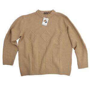 VAN LAACK Pullover Sweater Gr 52 L Wolle Kaschmir Seide Wool Cashmere Silk Italy
