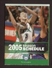 Nicole Ohlde--2005 Minnesota Lynx Schedule