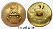 Ancien Bouton de Livrée, Baron. Famille de la Noblesse Française. 28 mm. XIX s.