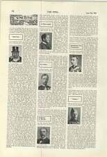 1900 American Singers London Esther Palliser Evangeline Florence Alice Esty