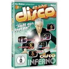SAILOR/DR. FEELGOOD/KENNY/SUZY QUATRO/UVM - ILJA RICHTER-DISCO INFERNO  DVD NEW!