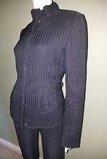 Gucci Black Quilted Long Sleeve Zip Ski Jacket Coat Italian 42/M