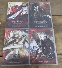 Hellsing: Ultimate Series Volume 1 2 3 and 4 I II II and IV DVD's 4 Total