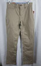 NWT Men's Mossimo Slim Straight Casual Pants W28 L30