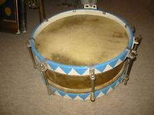 Nice,  old snare or  marching drum w. brass body