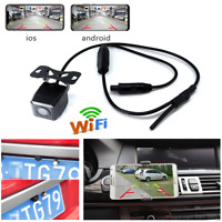 WiFi Wireless Car Reverse Rear View HD Night Vision Parking Cam Backup Camera