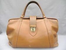 A Superb Large 1950s overnight/weekend hold all Leather Bag