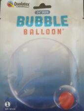 "Qualatex 24"" Deco Bubble Balloon - Clear (68825)"