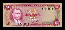 B-D-M Jamaica 50 Cents L. 1960 (1970) Pick 53 SC UNC