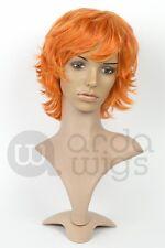 Heat-resistant Shoya Hinata Haikyuu Boy-cut Curly Natural Thick Cosplay Wig