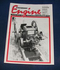 STATIONARY ENGINE MAGAZINE SEPTEMBER 1990 NO.199 - BLACKSTONE OIL ENGINE