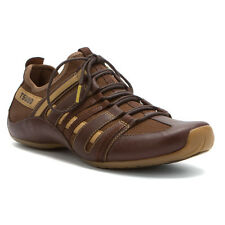 $180 New Tsubo Men Resnik Leather Lace Up Casual  Leather Sneaker Shoes sz 7