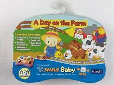 Vtech V-Smile Baby Smartridge Game - A Day On The Farm 9-36 Months NEW