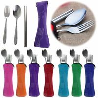 Useful Tableware Case Chopsticks Spoon Fork Cutlery Bag For Camping Picnic