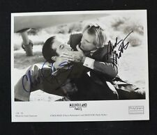 Nick Nolte & Chazz Palminteri Authentic Autographs 8 x 10  Mulholland Falls RARE