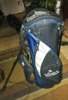 Cartbag / Golfbag Bay Hill blau-schwarz
