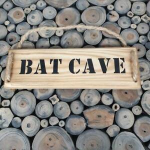 Handmade  ''Bat Cave'' wall plaque
