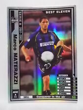 Panini WCCF 2001-02 AE Marco MATERAZZI Inter Italy