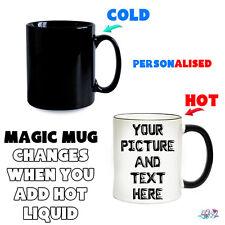 Personalised Magic Mug Heat Colour Changing Mugs | Birthday / Christmas Gifts