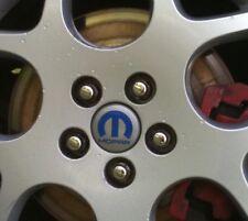 Mopar LOGO Wheel Cap Rim Center Cap Vinyl decal STICKER (Any Color) x 4