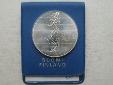 Suomi Finland 10 Markkaa EMX Helsinki 1971 Silver Coin UNC mint package