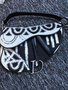 vintage 1990s Christian  Dior Saddle Bag