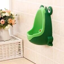 TOILET TRAINING AID Children Toddler Boy Potty Urinal Frog Pee Trianer CuteEj
