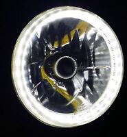 White LED Halo Ring Headlights Angel Eye DRL for Toyota Landcruiser 75 78 Series