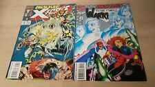 X-FORCE  THE NEW WARRIO#33 APR  & 45 MAR  MARVEL COMICS BOOK FREE SHIPPING VG C5