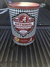 2011 Alabama National Championship Golden Flake Tin