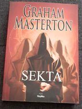 SEKTA - Graham Masterton | Paperback 2014 | Polish book | HOLY TERROR