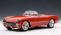 71082 AUTOart 1:18 Chevrolet Corvette '54 (Red) model cars