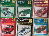 HAYNES OWNERS WORKSHOP MANUALS - SERVICE & REPAIR HANDBOOK CAR MAINTENANCE