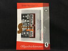 Prospekt-Blatt Wiegandt Waren-Automaten Berlin Neukölln – Schaufenster-Einbau