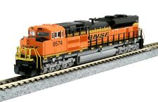 "KATO 176-8525-LS N SCALE BNSF SD70ACe ""KOBO"" FACTORY ESU LOKSOUND & DCC RD#8574"
