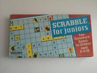 Vintage Scrabble for Juniors Board Game Retro (635)