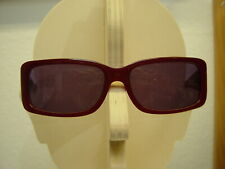 Original More & More Damen Sonnenbrille 54118 300 Kunststoff dunkelrot transpar.