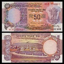 Billet de Banque - INDE / INDIA - 50 Roupies - 1982-1985 - NEUF UNC