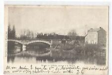 08 RETHEL , L' AISNE , PASSAGE A LA BARQUE , TRAIN