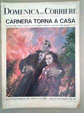 LA DOMENICA DEL CORRIERE-CARNERA TORNA A CASA- DEL 28 MAGGIO 1967