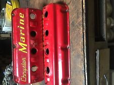 Chrysler Marine Hemi 392 354 331 adjustable Dimple valve covers hot rat rod 426